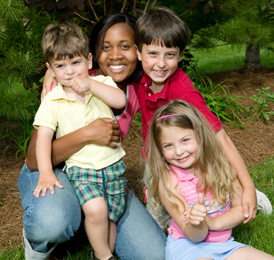 Sullivan University Student with children